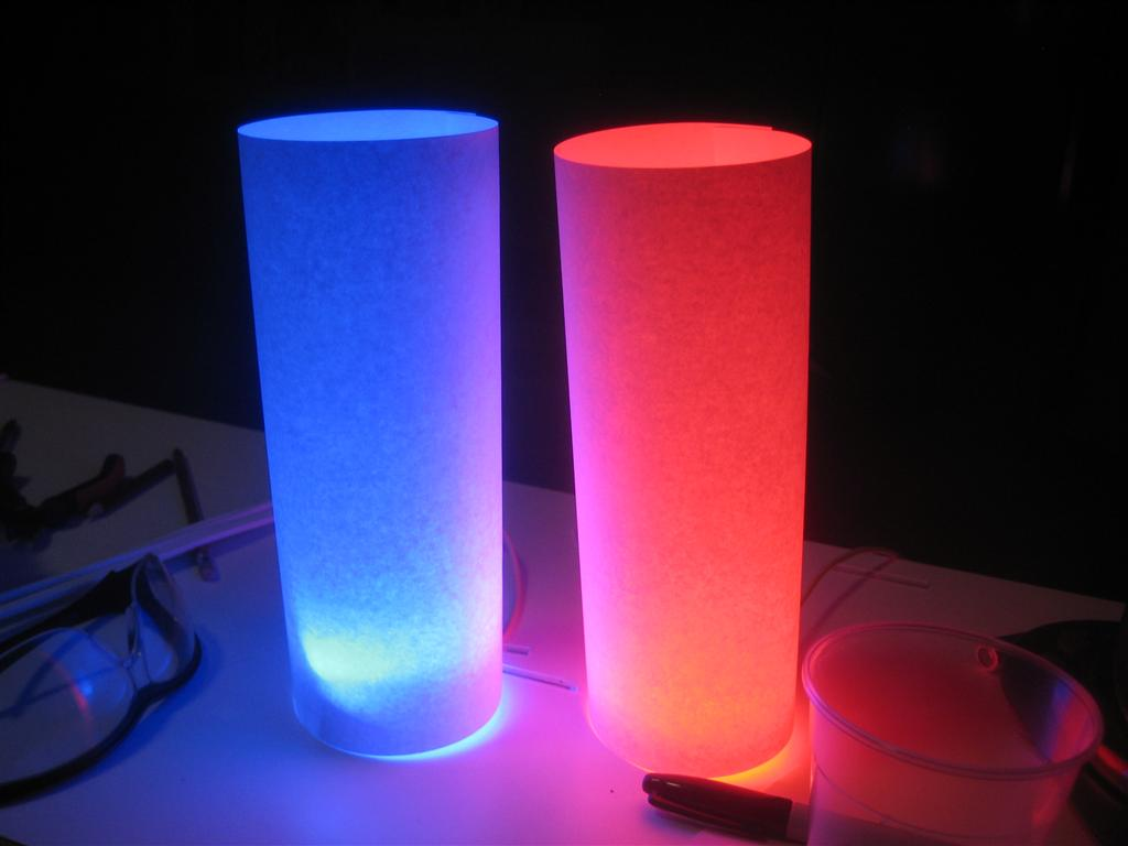 Wooden usb powered rgb led lamp steps with pictures